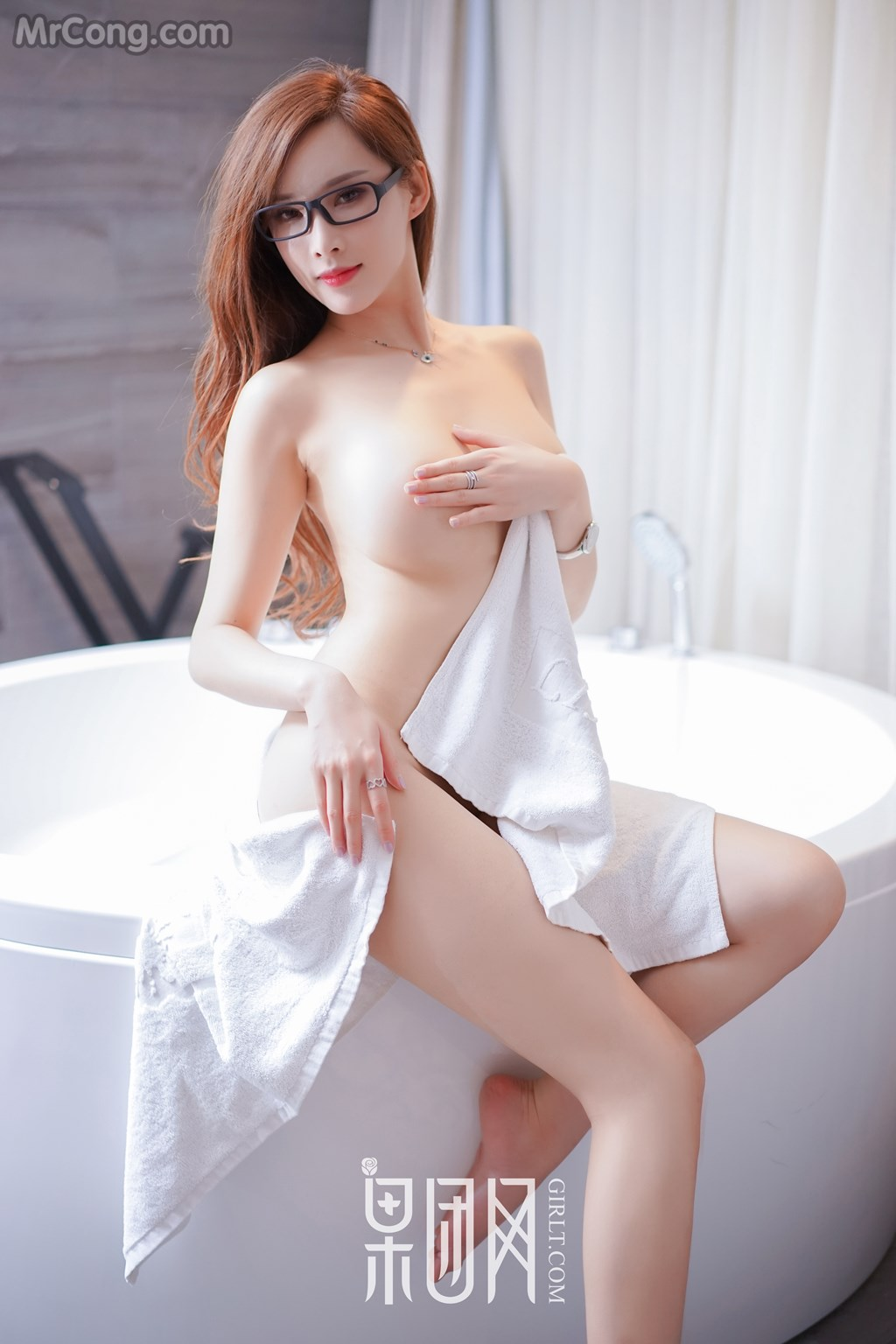 GIRLT No.012: Người mẫu 土肥圆矮挫穷 (51 ảnh)