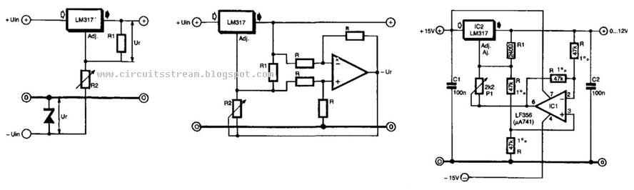 Simple But Best Regulator Circuit Diagram