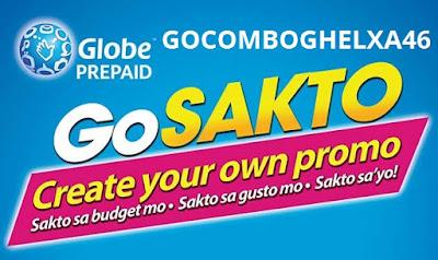 GOCOMBOGHELXA46 : 1GB Surfing + 1000 All-Net Texts + 500mins Calls to Globe/TM/ABS-CBN/Cherry