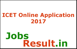ICET Online Application 2017