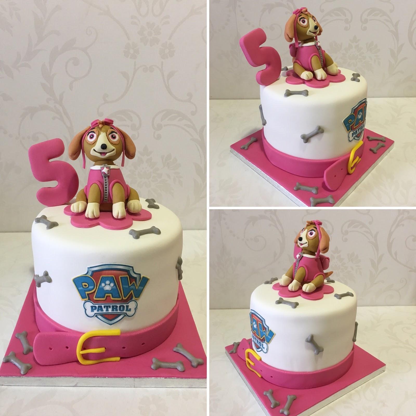 Karina S Cookies Cupcakes Pastel Paw Patrol