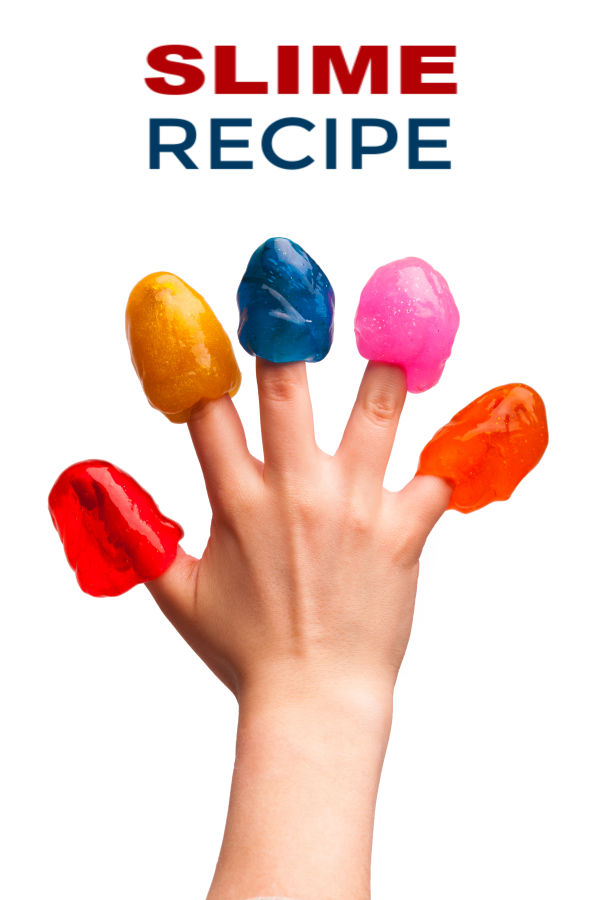 Make slime for kids using baking soda & contact solution!  This easy recipe does not require borax or liquid starch, making it great for all ages.  Baking soda slime for kids #bakingsodaslime #bakingsodaslimerecipe #makeslime #makeslimewithbakingsoda #slimerecipe #slime #slimerecipeeasy #bakingsoda