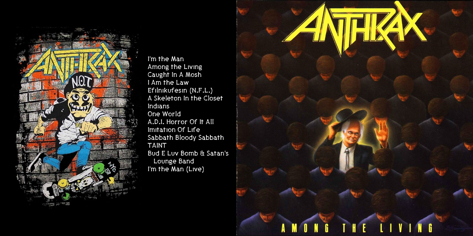 All the Air In My Lungs: Anthrax - Among the Living - 1987