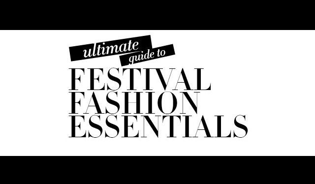 Ultimate Guide to Festival Fashion Essentials #infographic