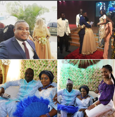 Photos from Simi's mother wedding