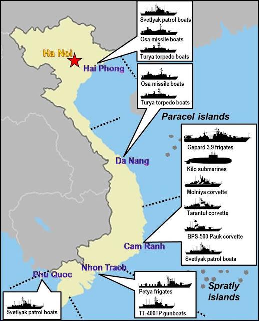 Submarine Matters Excellent Vietnamese Military Eg Navy - Us submarine bases map submar
