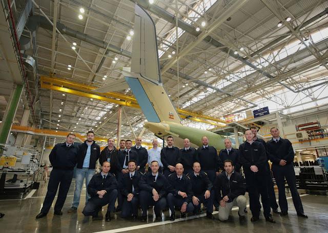 Finaliza el primer curso de formación de técnicos de mantenimiento del A400M