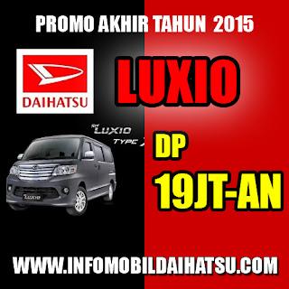 Promo Daihatsu Luxio 2015, Daihatsu Luxio Bandung, Promo Luxio Bandung