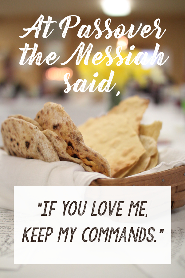 John 14:15 - if you love me, keep my commands | Land of Honey