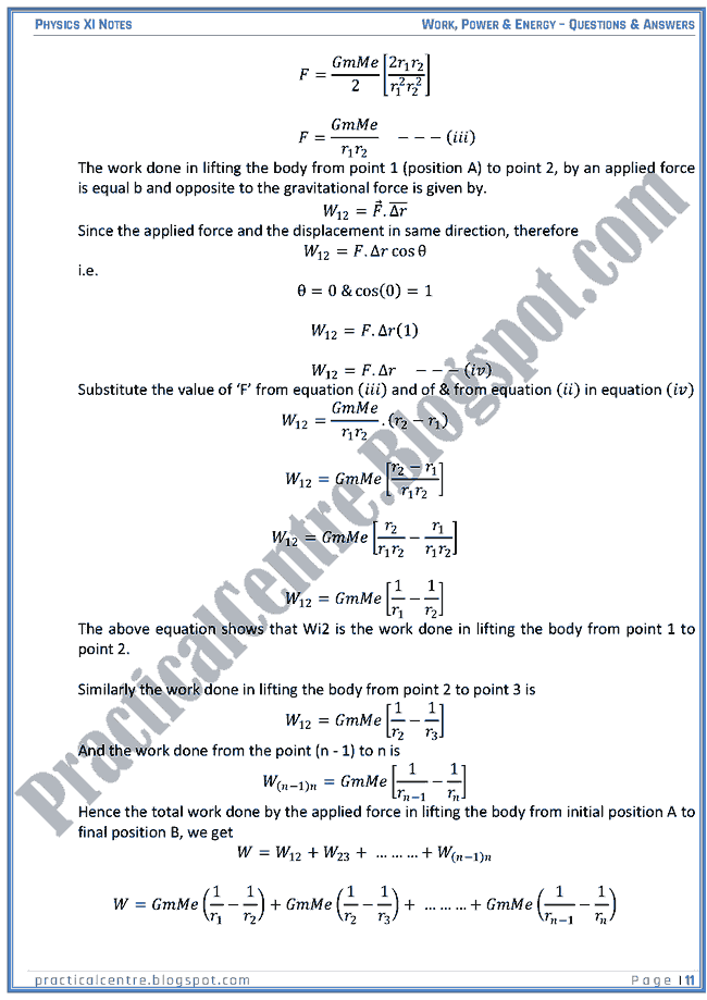 work power and energy transfer questions and answers Work and energy in physics chapter exam instructions choose your answers to the questions and click 'next' to see the next set of questions you can skip questions if you would like and come back.