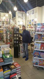 La Libreria Punto Einaudi promuove Manzini, Sellerio