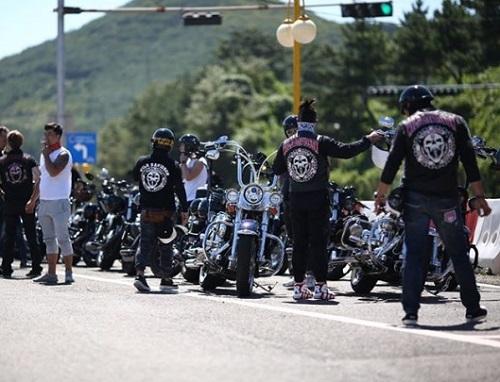 Touring Harley Davidson