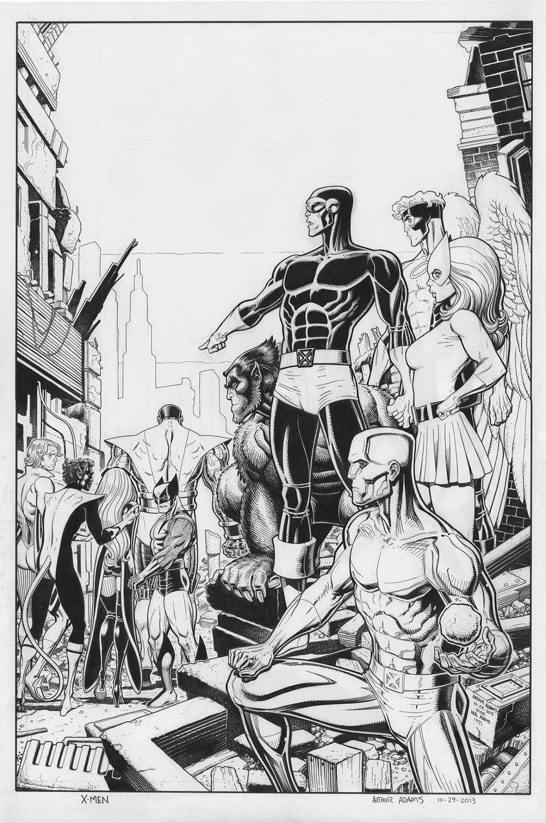 Arte 24 Marvel Comics Of The 1980s Anatomy Of A Cover Avengers