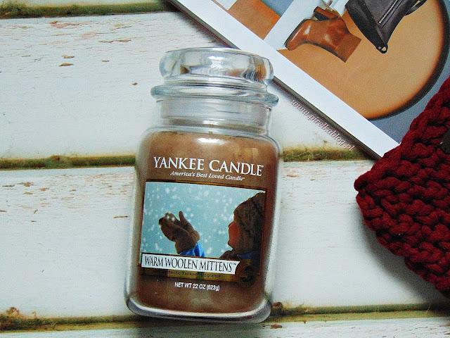 Yankee Candle, Warm Woolen Mittens - Moja największa świecowa miłość