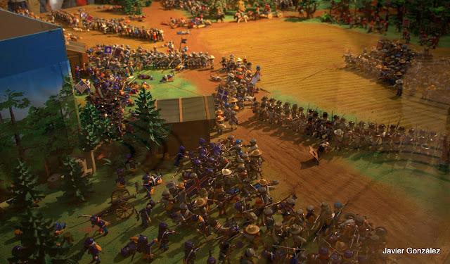 Batalla de Chickamauga reproducida por Clicks