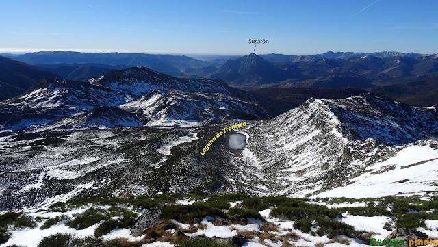 Ruta circular al Pico Lago desde el Puerto de las Señales.