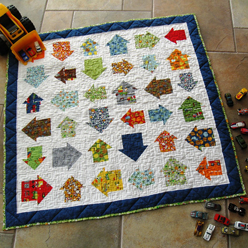 On The Go Baby Boy Quilt
