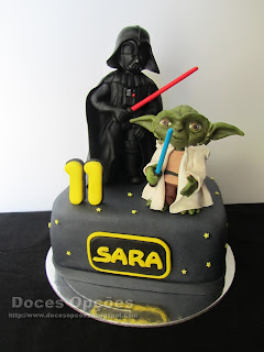 Bolo de aniversário Star Wars