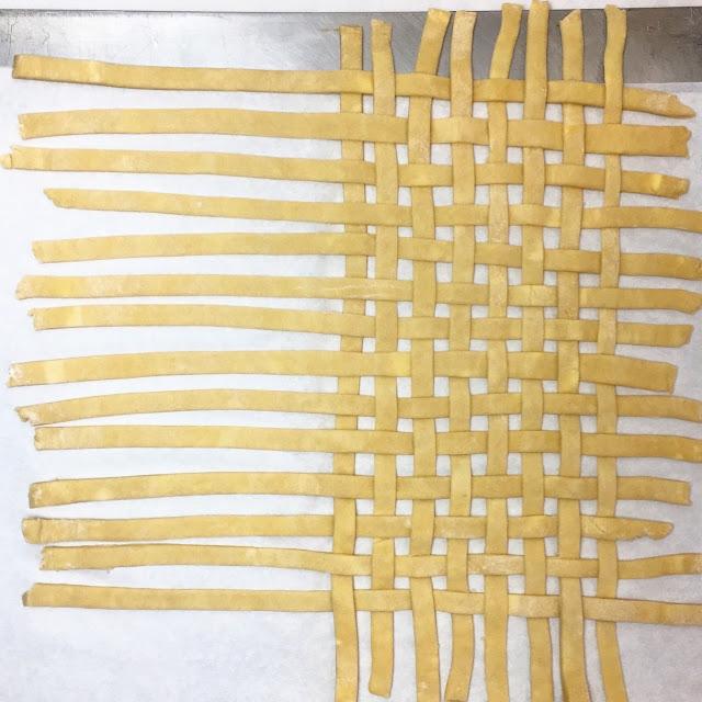 Weaving Lattice Crust - Step 6