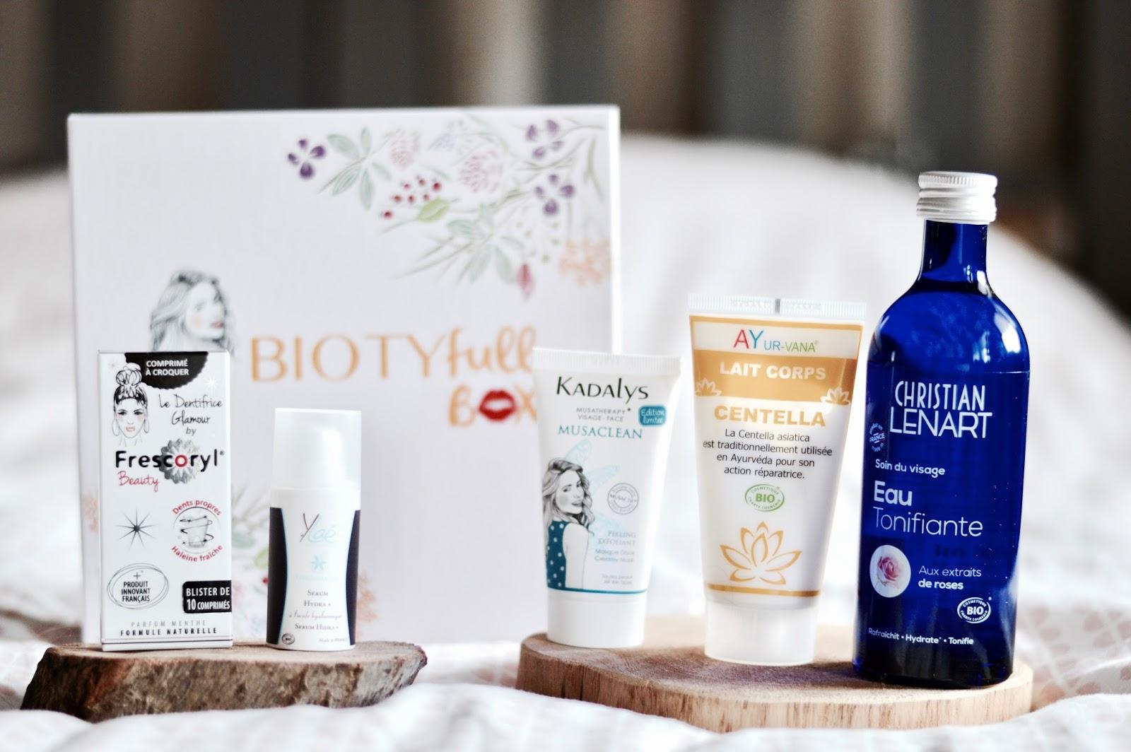 Biotyfull box de septembre nouvelle routine beauté pour la rentrée