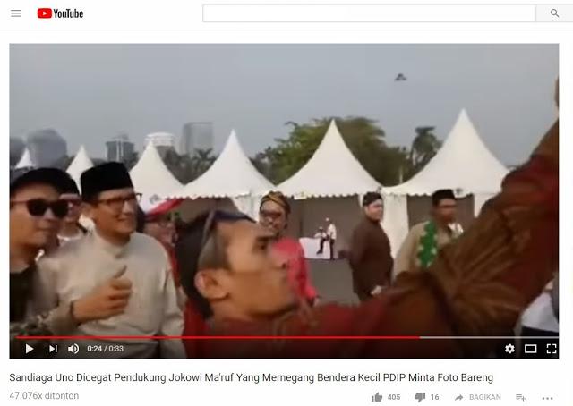 Pilpres 2019 telah usai ketika pendukung Jokowi kesengsem dengan Bang Sandi