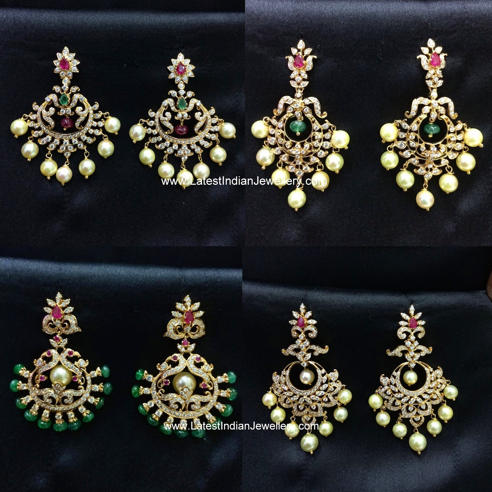 Diamond Chandbali Collection