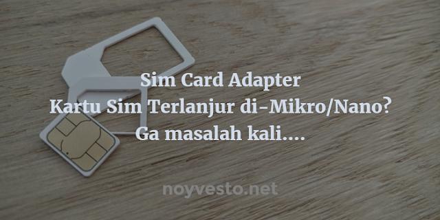 Adaptor Kartu Sim