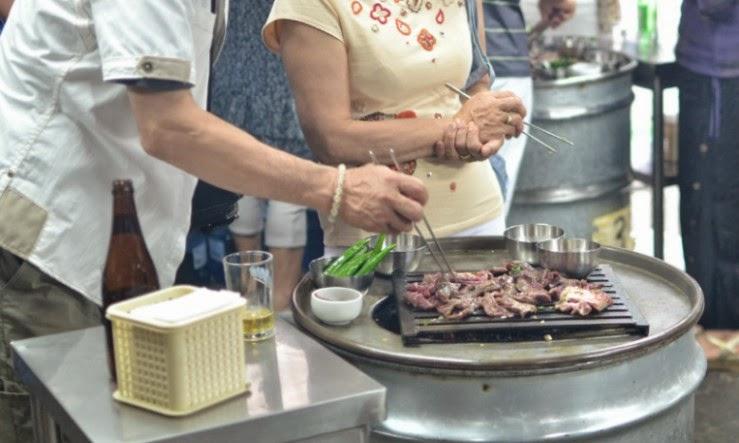 首爾名店: 站著吃烤肉