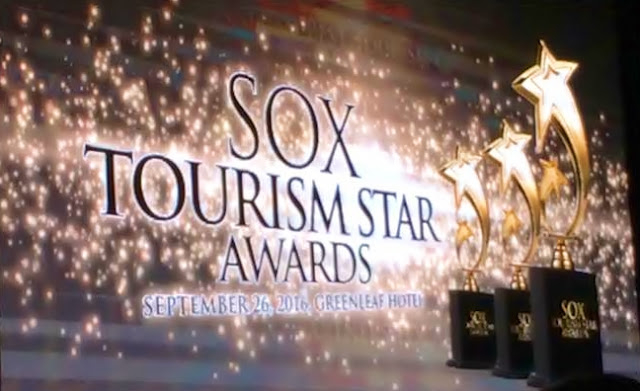 1st SOX Tourism Star Awards recognizes stakeholders