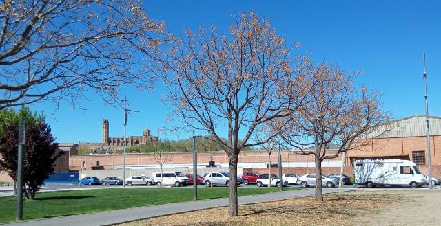 Lleida, lloc d'estacionament