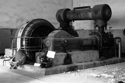 Compresor worthington pozo julia (foto de archivo histórico minero)
