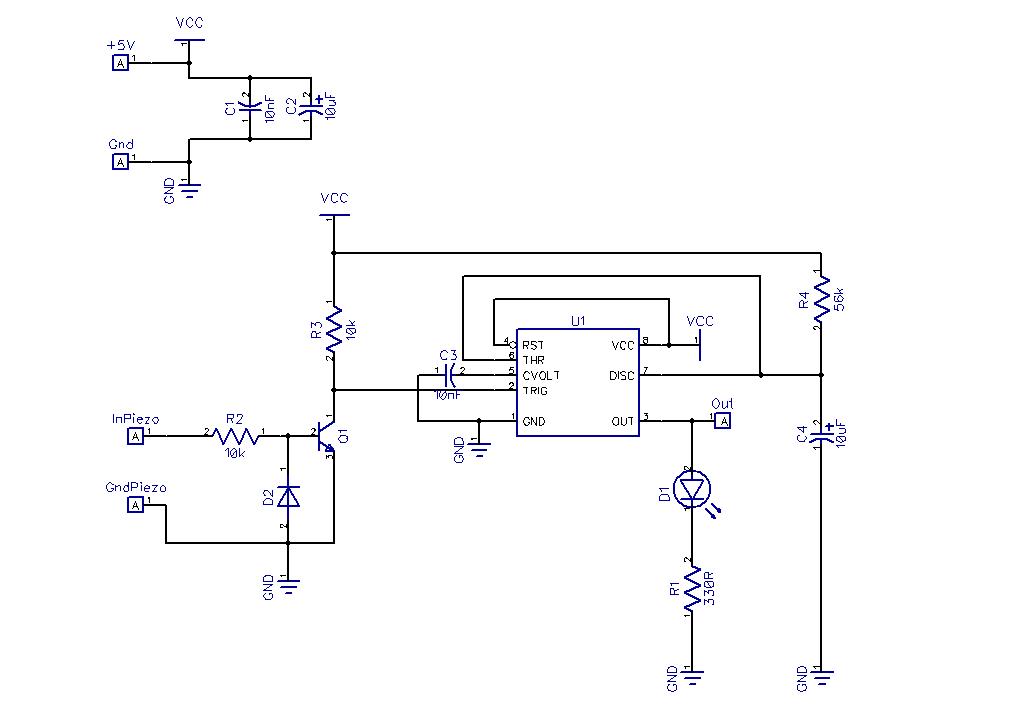 alain u0026 39 s projects  piezo sensor button