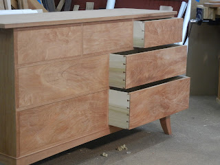 Solid wood Dresser or chest of drawers