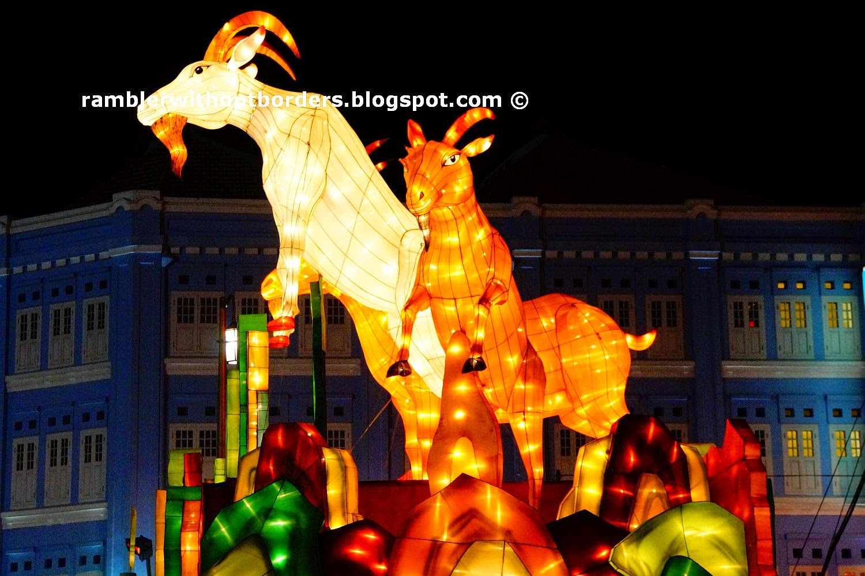 Chinese New Year Display in Chinatown 2015, Singapore