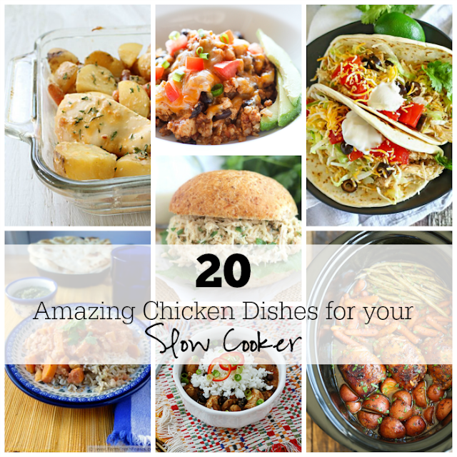 20 Amazing Chicken Dishes for Your Slow Cooker