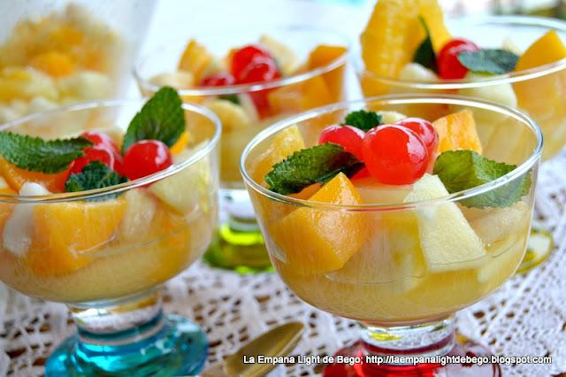 Macedonia de frutas mediterranea