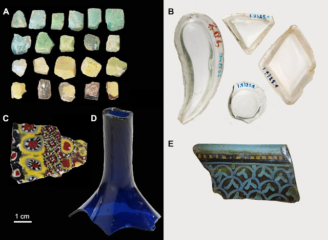 Evidence of glass industry in ninth-century city of Samarra in Iraq