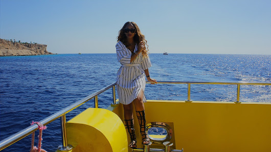 Zeena Xena: Nautical Stripes ft Boohoo