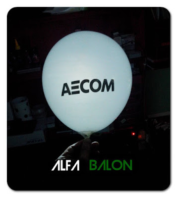 Balon Led Sablon