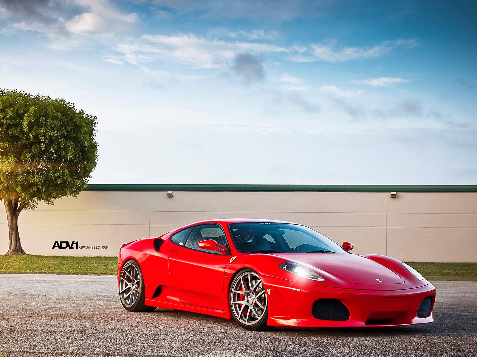 High Definition Wallpaper Club: ADV1 Wheels Ferrari F430 ...