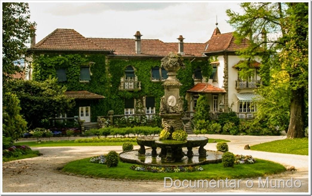 Casa senhorial e fonte das quatro estações; Quinta da Aveleda