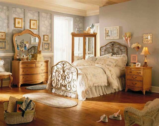 vintage bedroom colour ideas