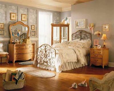 vintage bedroom colour ideas