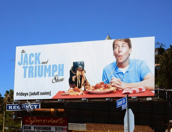 Jack and Triumph Show Adult Swim billboard