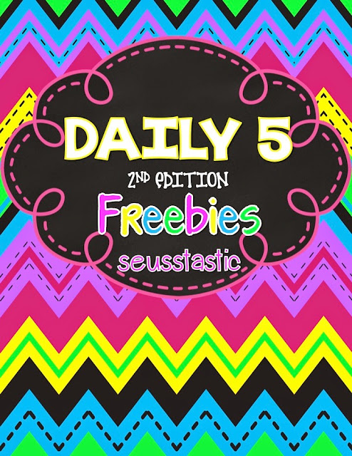 Daily 5 Word Work Freebie
