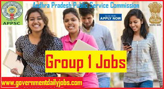 APPSC Group 1 Notification 2019 Apply Online for 169 Various Jobs
