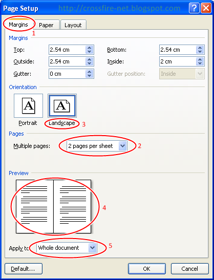 Cara Print 2 Halaman 1 Kertas Di Excel 2010 : print, halaman, kertas, excel, CROSSFiRE, Netcafe,, Inc.:, Tutorial, Cetak, Halaman, Dalam, Lembar, Kertas, Serta, Bikin, Booklet, Dengan, Office