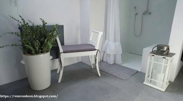 У Терезы наконец новая ванная комната, на которую копила 14 лет