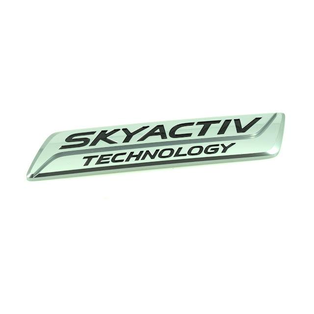 [Chính hãng] Logo Skyactiv| Mazda CX-5 2016| KD5351771 | Biểu tượng Skyactiv CX5 2016