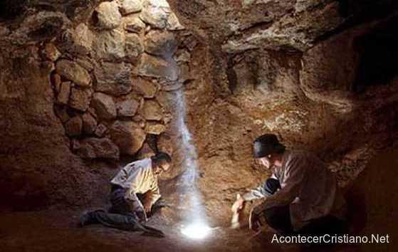 Cueva subterránea donde se reunían cristianos